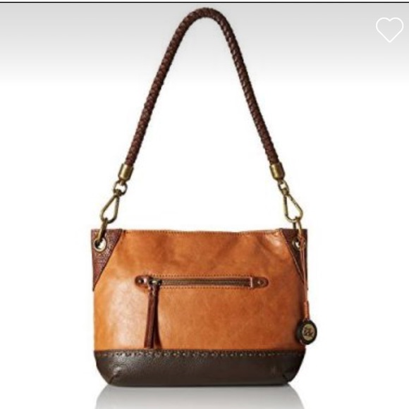 The Sak Women/'s Indio Pebble Leather Shoulder Bag New NWT $149